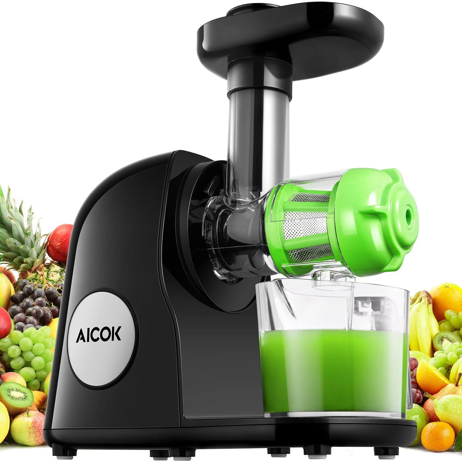 Sensio Juicer Slow Juicer Review : Aicok Slow Masticating Juice Extractor Review 2018 Juicer Fanatics