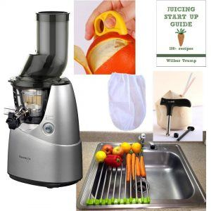 Kuvings Whole Slow Juicer Combo