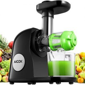 aicok juicer slow masticating juicer image