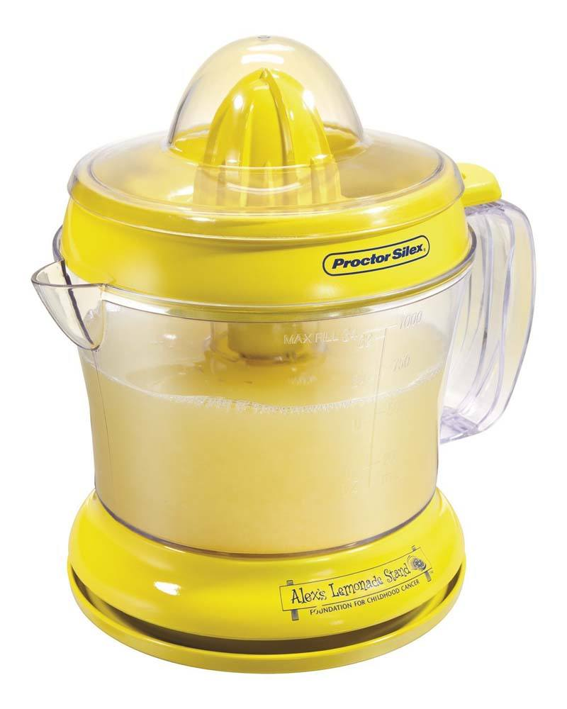 Proctor Silex 66331 34 oz. Alex's Lemonade Stand Citrus Juicer